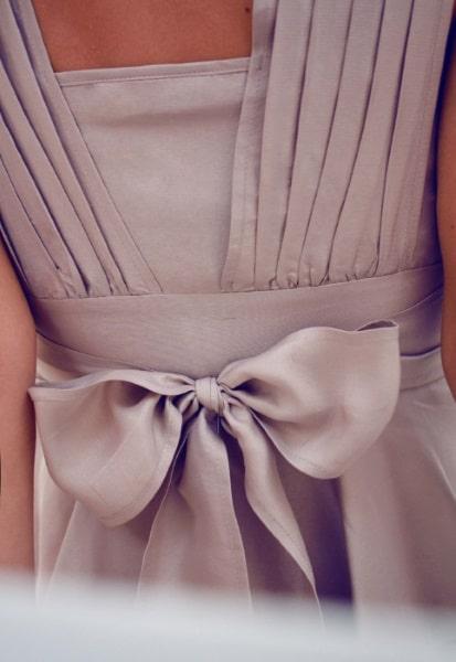 Couture Kleid mit Schleife