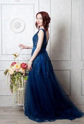 glamouröses Abendkleid