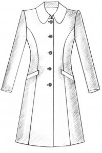 traditioneller Mantel